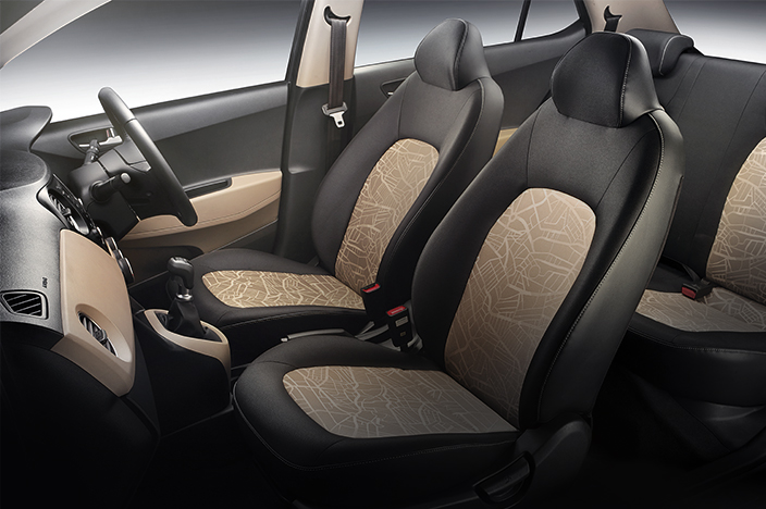 Full view of interior seats