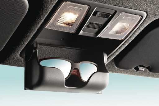 Sun visor with mirror