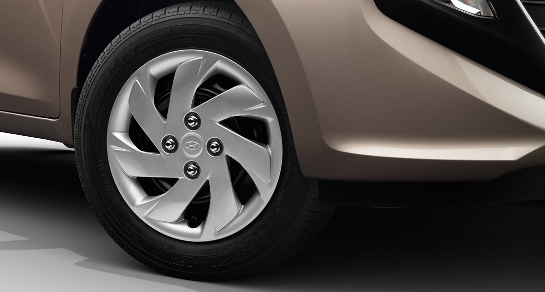 Wheels in different inches