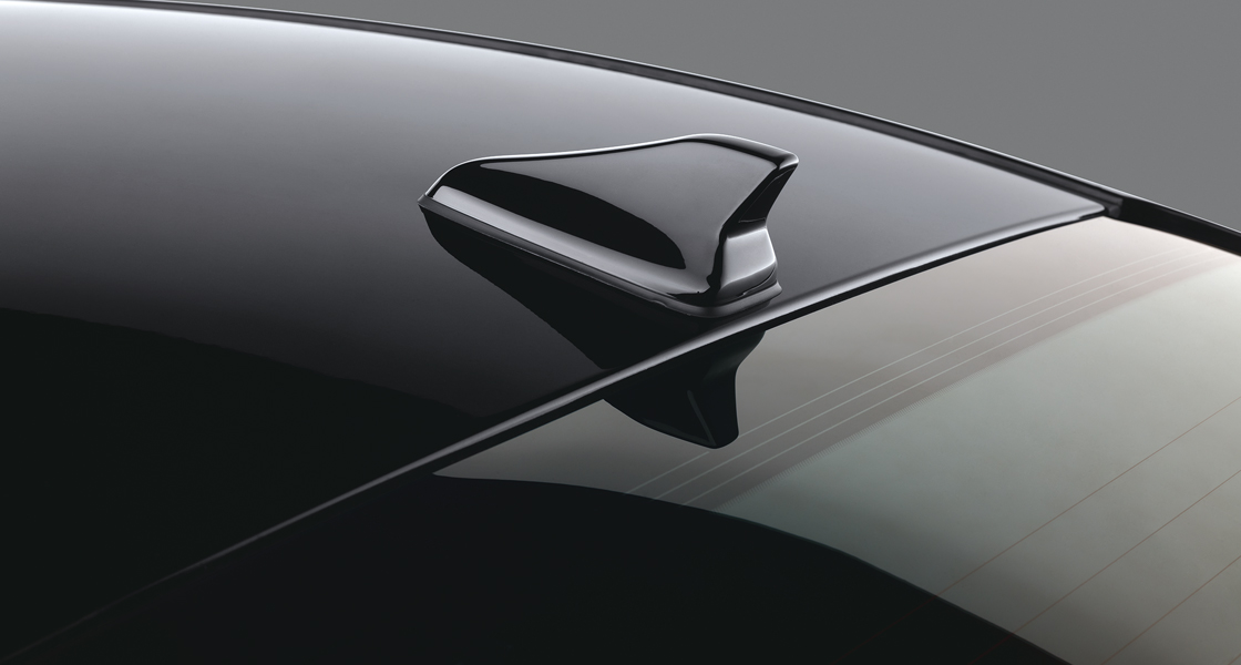 Privacy glass on rear