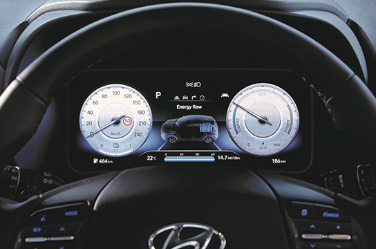 """New 7"""" instrument cluster"""