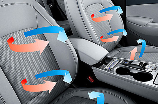 Heated / ventilated seats