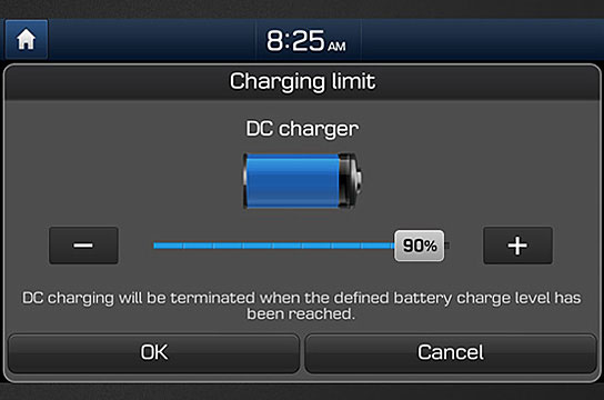 Charging limit